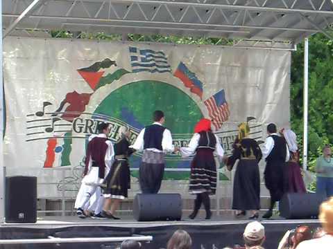 Greek American Folk Dance Society - LR Greek Festival 09 - 09