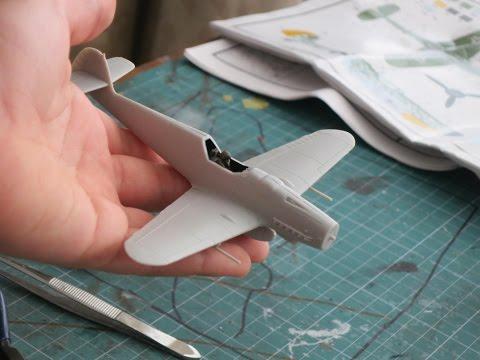 Airfix Messerschmitt BF109 G-6 Build Part 1