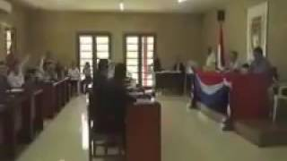 Президент Боливии Моралес смотрит порно в суде  // Evo Morales vídeo de Gemidos