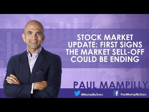 Stock Market Update: First Signs The Market Sell-Off Could Be Ending – Paul Mampilly