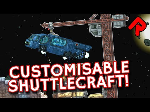Starbound Customizable Shuttlecraft Mod: Choose Your Own Loadout! | Best Starbound Mods