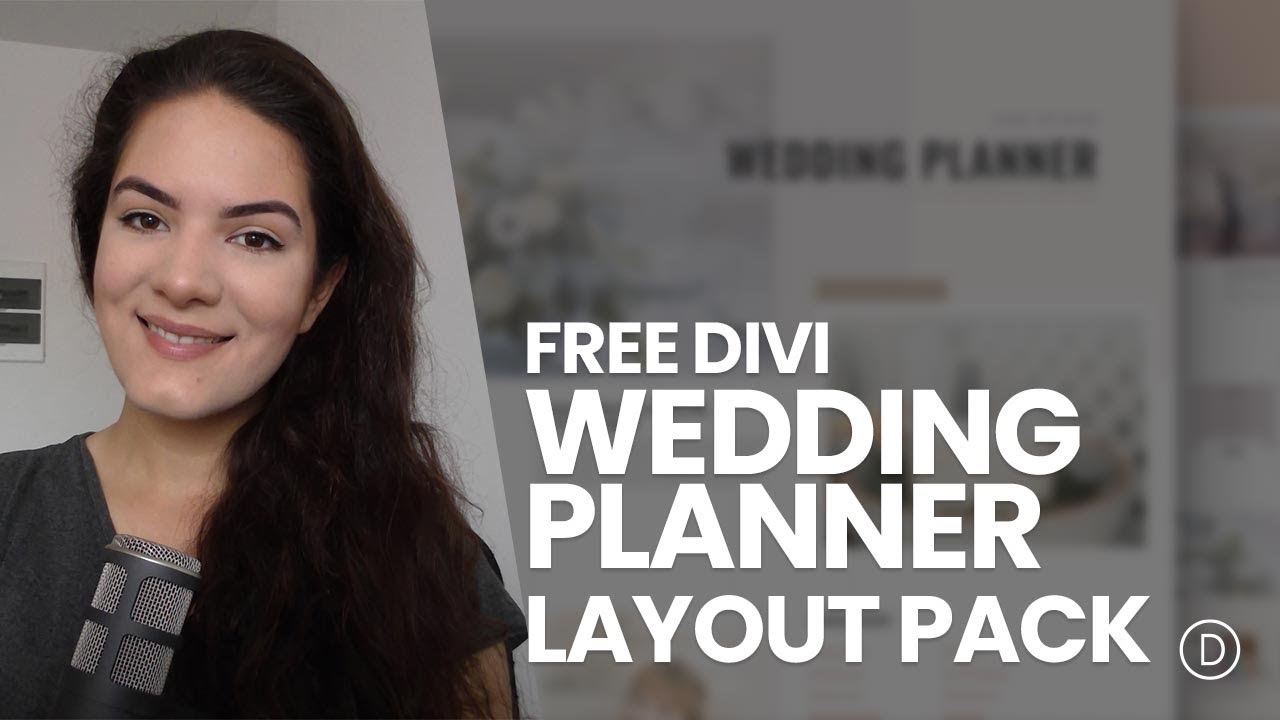 get a free wedding planner layout pack for divi youtube