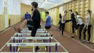 видео Занятия по легкой атлетике