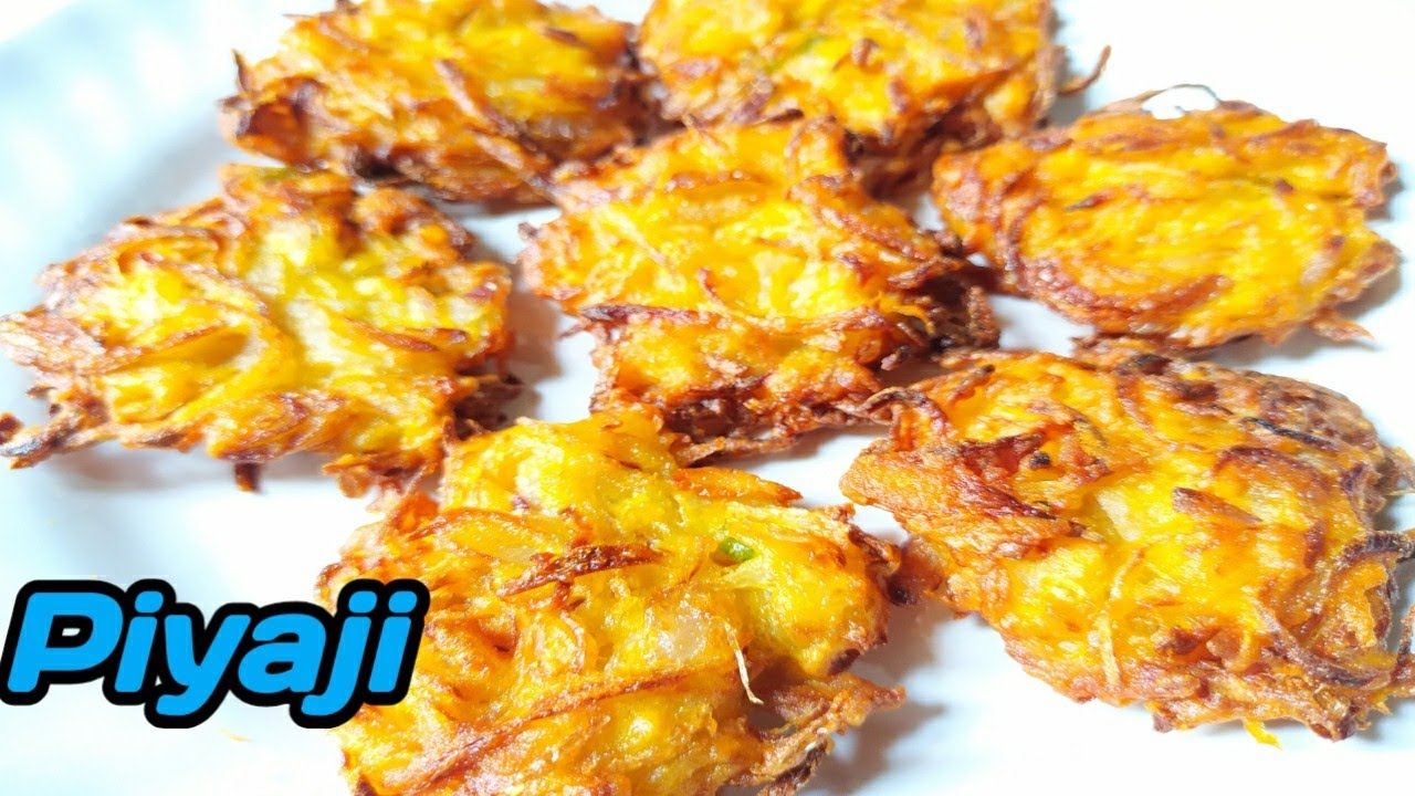 piyaji Recipe||How to make Easy Bengali style piyaji Recipe||Bangladeshi style piyaji recipe