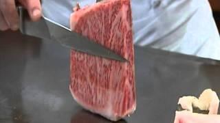 ESCALES TV「 神戸牛ステーキ あぶり肉工房 和黒  kobe beef steak wakkoqu」