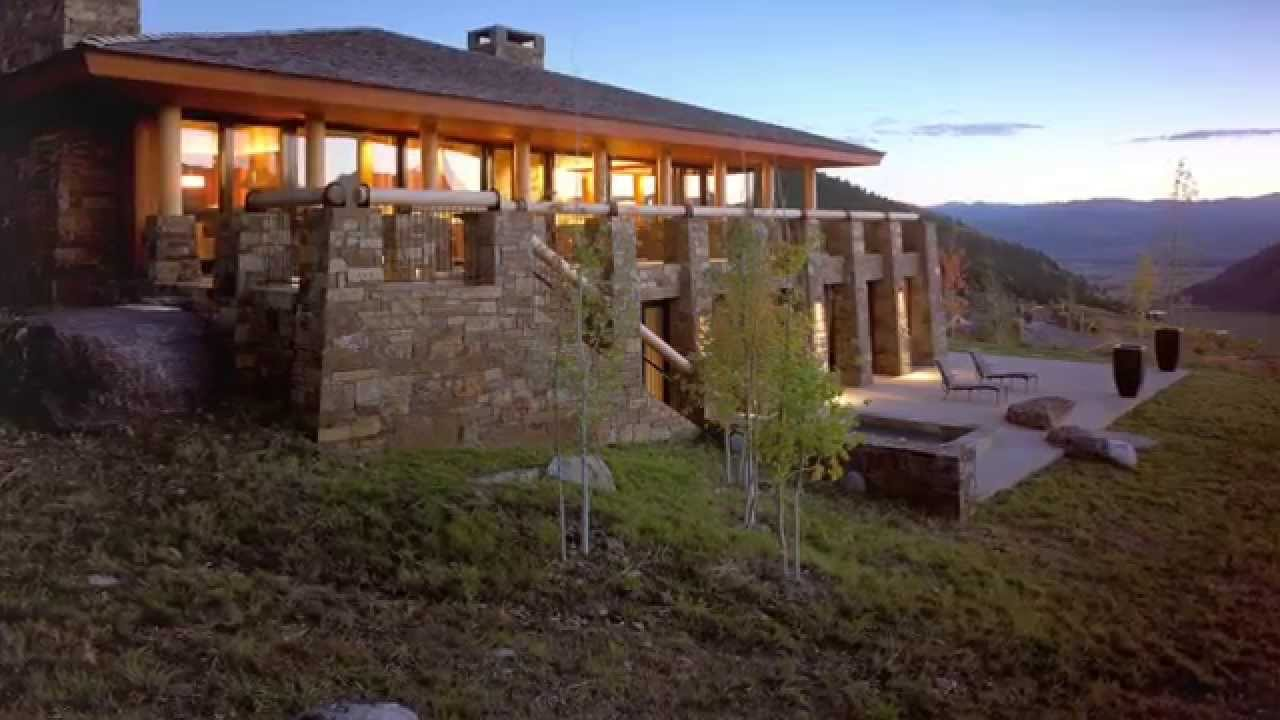 Aman mountain villa home for sale in amangani resort for Luxury hotel jackson hole