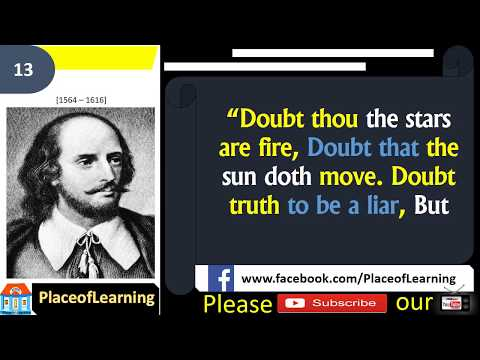 21 most Inspirational and motivational evergreen  quotes by William Shakespeare
