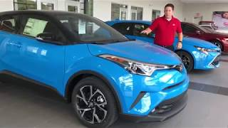 The all-new 2019 Toyota C-HR walk-around and model review | Toyota of Irving near Dallas