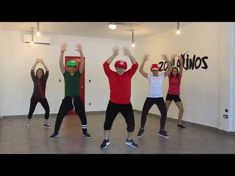 Zumba Jump Up, Super Star! - Super Mario Odyssey I Dance Fitness Zonlatinos