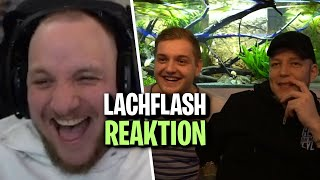 LACHFLASH REAKTION auf MONTE vs TRYMACS - UnsympathischTV Video | ELoTRiX Livestream Highlights