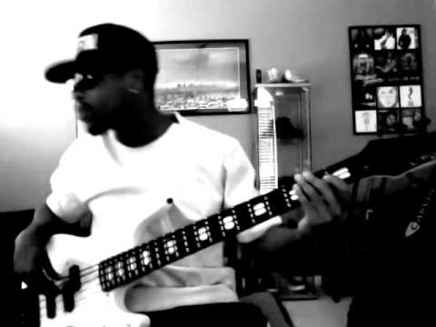 Chris Brown-New Flame-Bass Cover By Trevor James