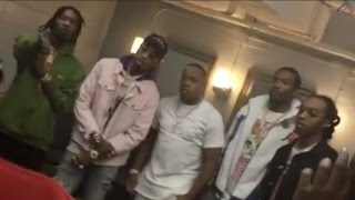 Repeat youtube video Yo Gotti, Meek Mill, Migos, Future, Young Thug link up backstage of Yo Gotti's album release concert