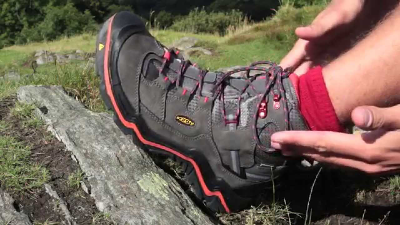 653dea58e01e Trail magazine test drives the Keen Durand hiking shoe - YouTube