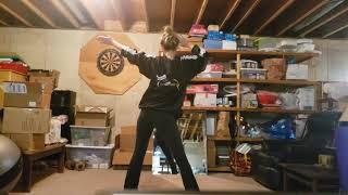 Recital practice video part 1 (from back)
