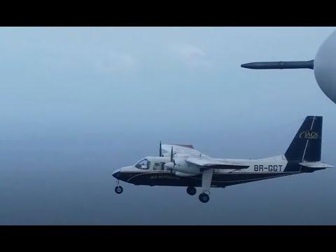 Flying around Guyana