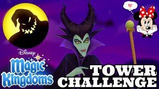 DISNEY VILLAINS UNITE WITH MALEFICENT IN DISNEY MAGIC KINGDOMS TOWER CHALLENGE #3!