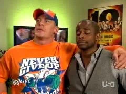 Psych hosts WWE Raw part 1