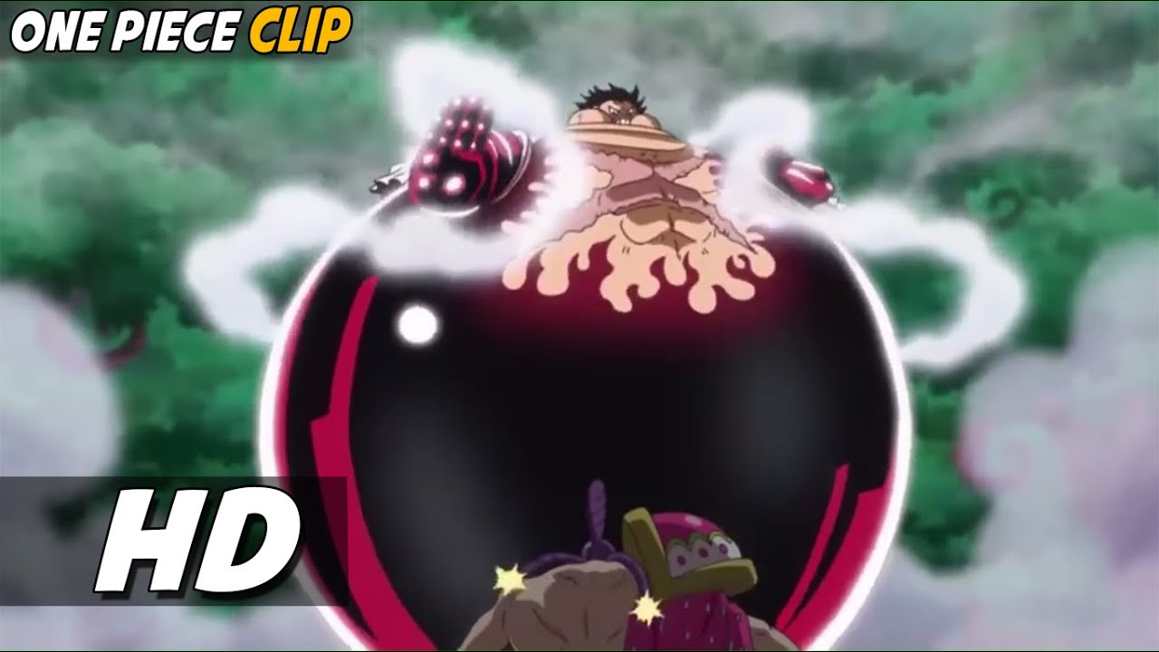 Luffy, a young man whose body gai. Luffy Use Gear 4 Tank Man For The First Time 60fps One Piece Hd Youtube