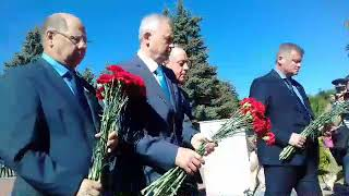 На Воскресенском кладбище почтили память павших в годы войны защитников Отечества