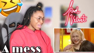 RED VELVET: A MESS ep. 4| REACTION| Favour