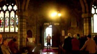 ashburton s town crier in st andrew s church