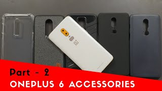 Best Accessories for OnePlus 6 (Back Cases & Cover) - Part 2 [India]