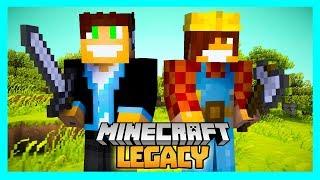 Minecraft Legacy #05 - Odwiedzamy Sąsiadów! :D /w BoBiX