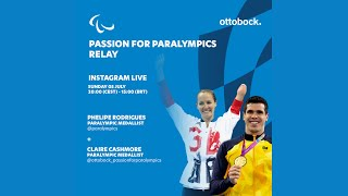 Passion for Paralympics relay -- Live Instagram interview with Claire Cashmore