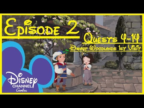 Kingdom Hearts Union χ [Cross] Story Part 2: Dwarf Woodlands 1st Visit (Quests 4-14) No Commentary