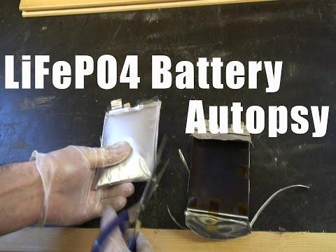 LiFePO4 Battery Autopsy/Teardown