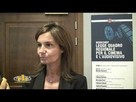 FABIANA SANTINI - intervista (Legge Quadro Cinema Audiovisivo) - WWW.RBCASTING.COM