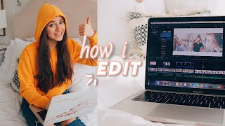 how i edit my youtube videos + how to edit videos FASTER!