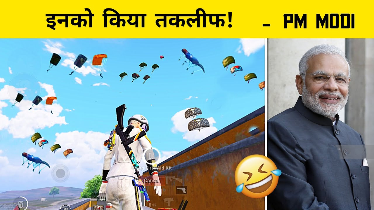 🇮🇳 Playing Pubg mobile with Prime Minister - Funny Role Play - Legend X