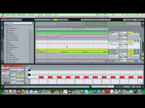 Ableton Live Tutorial - Axwell - Teenage Crime Built Up by Santiago Fellini