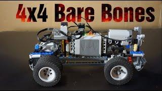 Part 1 4x4 Bare Bones RC Lego Technic