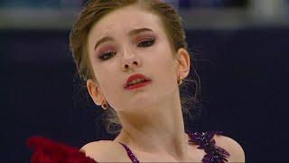 Дарья Усачева Короткая программа Женщины Москва Кубок России по фигурному катанию 2020 21