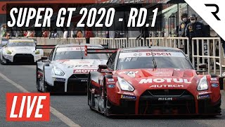 SUPER GT 2020 Round 1 - Full Race, Live, English - Fuji Speedway