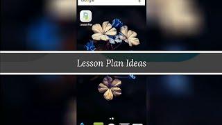 Lesson Plan. Лучшее приложение.