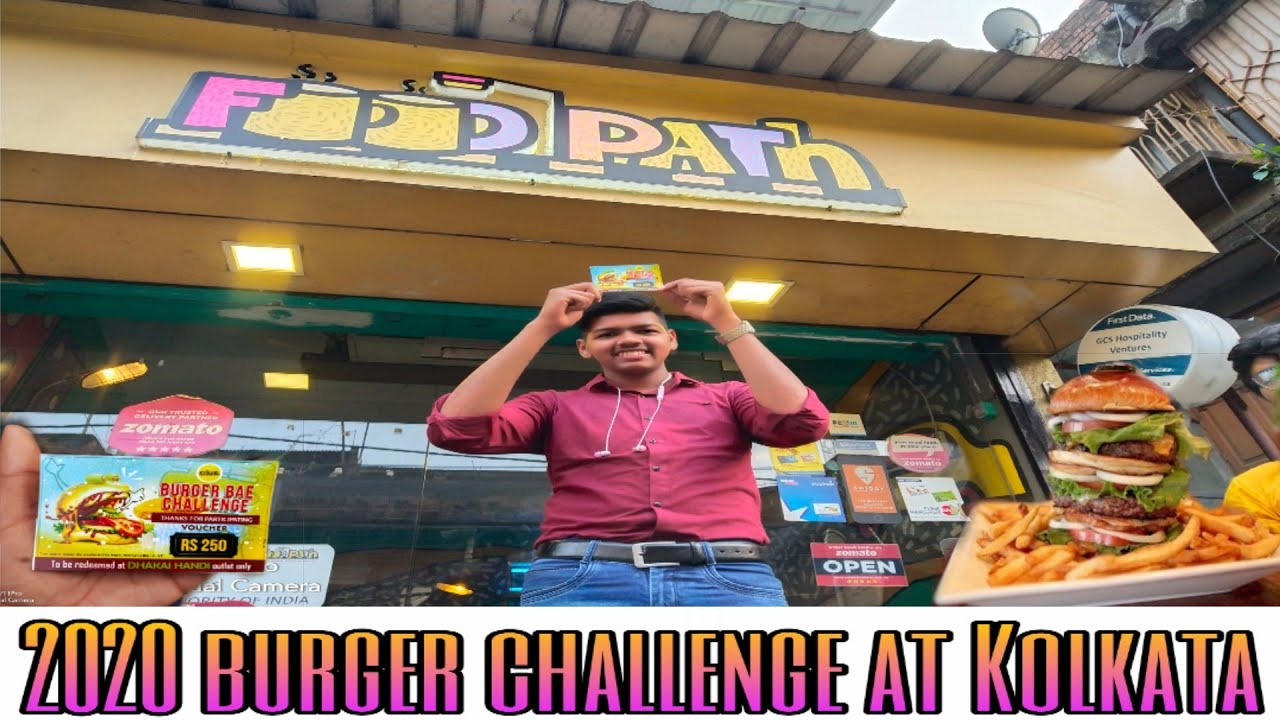 I ACCEPT BURGER CHALLENGE AT FOODPATH | IN বাংলা |