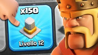 ULTIMO EPISODIO! 150 IVORY WALLS - Clash of Clans