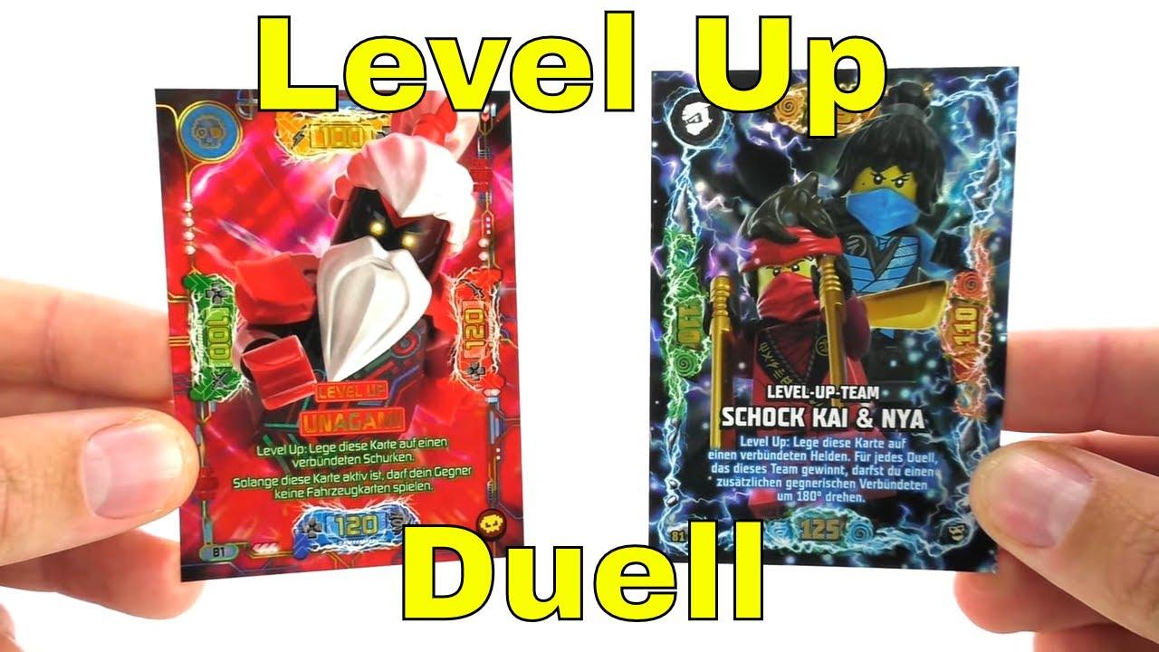 Download Spannend bis zum Schluss? Level Up Karten Duell / LEGO Ninjago Serie 5 VS 6