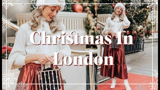 CHRISTMAS DAY & New Years EVE OUTFIT IDEAS // Christmas in London Lookbook // Fashion Mumblr