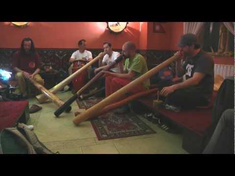 Didgeridoo Klub - hangulat a teaházból - Spiritual teahouse