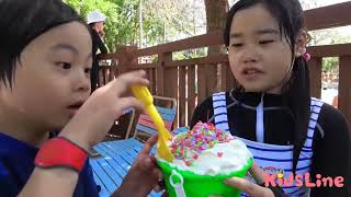 Eat Jungle Gym Bucket Ice In The Ice Pool Too! Outing Going On, Mikan