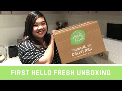 Hello Fresh Australia - Unboxing Video Part 1