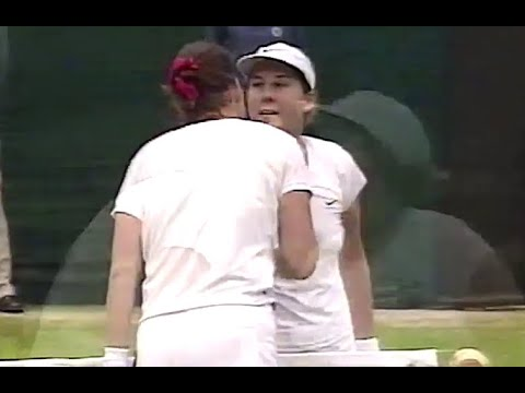 Lindsay Davenport vs Monica Seles 2000 Wimbledon Highlights