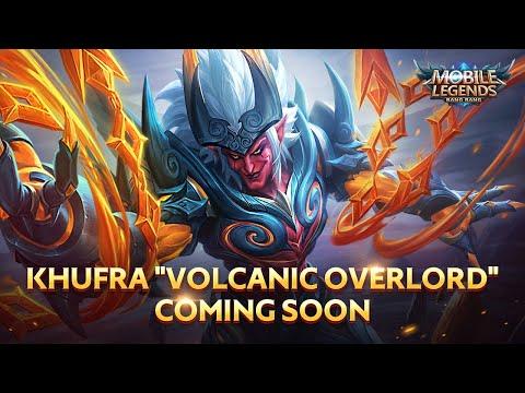 Khufra New Epic Skin Volcanic Overlord Mobile Legends Bang Bang Youtube