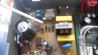 Ремонт блока питания ресивера после скачка напряжения в электросети(После перепада напряжения вышел из строя ресивер. Что интересно, что предохранитель остался цел. После..., 2014-07-12T10:39:24.000Z)