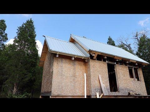 Cabin Metal Roof Part II