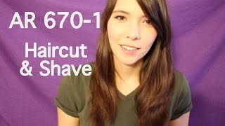 asmr ar 670 1 men s haircut and shave roleplay in stereo